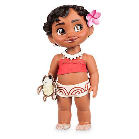 Кукла принцесса Моана, Ваяна Дисней Аниматоры Disney Animators Moana Toddler Doll