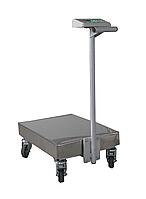 Платформенная тележка с весами Техноваги ТВ1-150-20-R(400х550)-S-12ера, до 150 кг