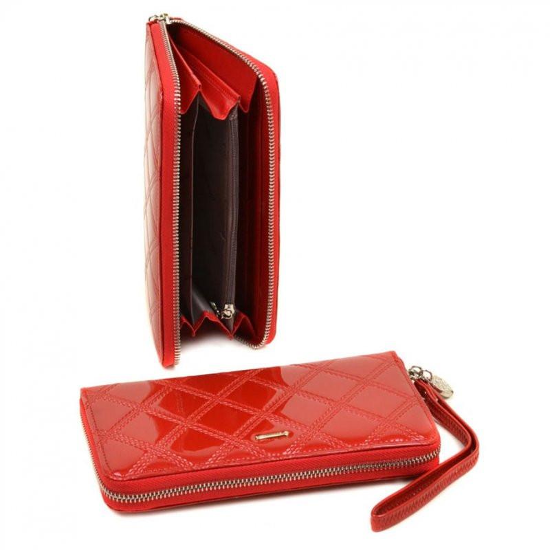dc9c3cb435bb Красный лаковый женский кошелек на молнии: продажа, цена в Днепре ...