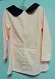 Платье с пуговицами 4 года розовое 41564 COCKCON Китай, фото 5