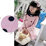 Платье с пуговицами 4 года розовое 41564 COCKCON Китай, фото 2