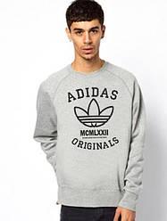 Свитшот мужской Adidas Originals серый