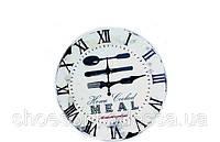 Кухонные винтажные настенные часы для кухни в стиле Прованс