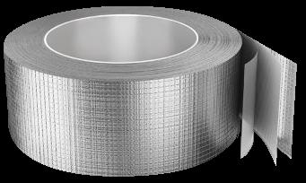 Скотч алюминиевый армированный 75 х 50 лента