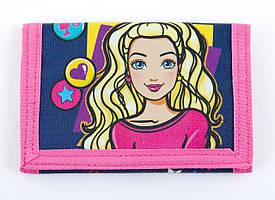 531430 Кошелек детский Barbie jeans, 24.5*12