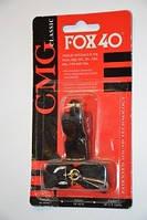 Свисток судейский FOX40-CL  (пластик, цвета в ассортименте)