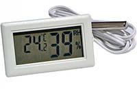 Термометр с влагомером и выносным датчиком WSD -12, фото 1