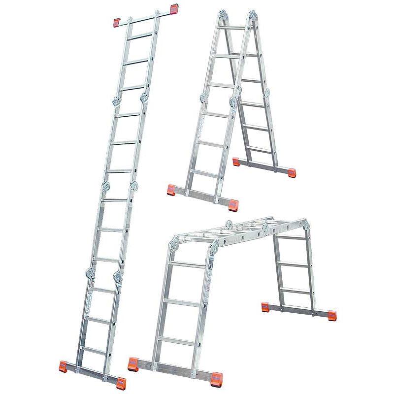 Купить лестницу-трансформер Шарнирная лестница-стремянка