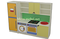 Дитяча ігрова кухня Поліна (1600*420*1200h)