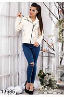 Куртка пальто женская кашемир (42-46р), доставка по Украине