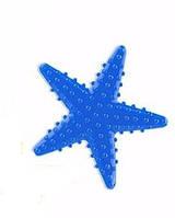 Мини-коврик орто Морская звезда синяя