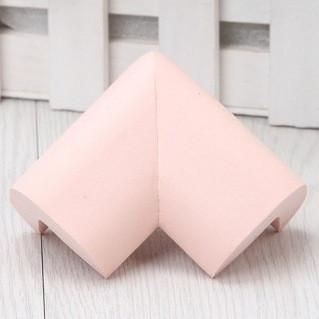 Угловая защита на мебель - большая. Розовый.