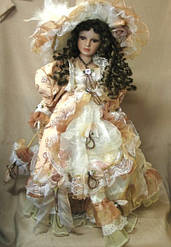 Куклы фарфоровые интерьерные