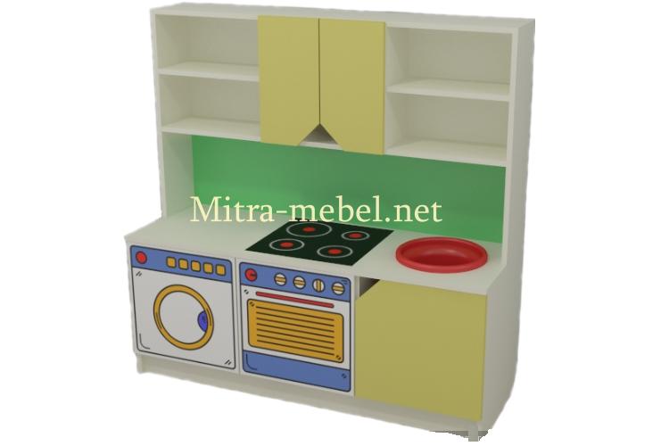 Игровая кухня в детский сад Алина 1200*420*1200h