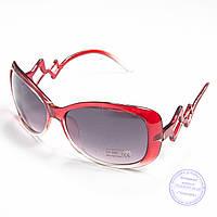 Распродажа женских солнечных очков оптом - Красные - B913, фото 1