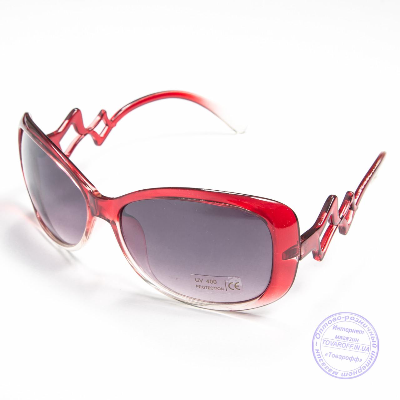 e3db249d2a12 Распродажа женских солнечных очков оптом - Красные - B913 - купить ...
