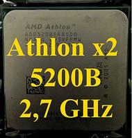 Процессор (б\у) AMD Athlon 64 X2 5200B (5200+),  2,7ГГц, Tray