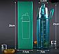 Спортивная бутылка  600 мл(зеленая,синяя), фото 3