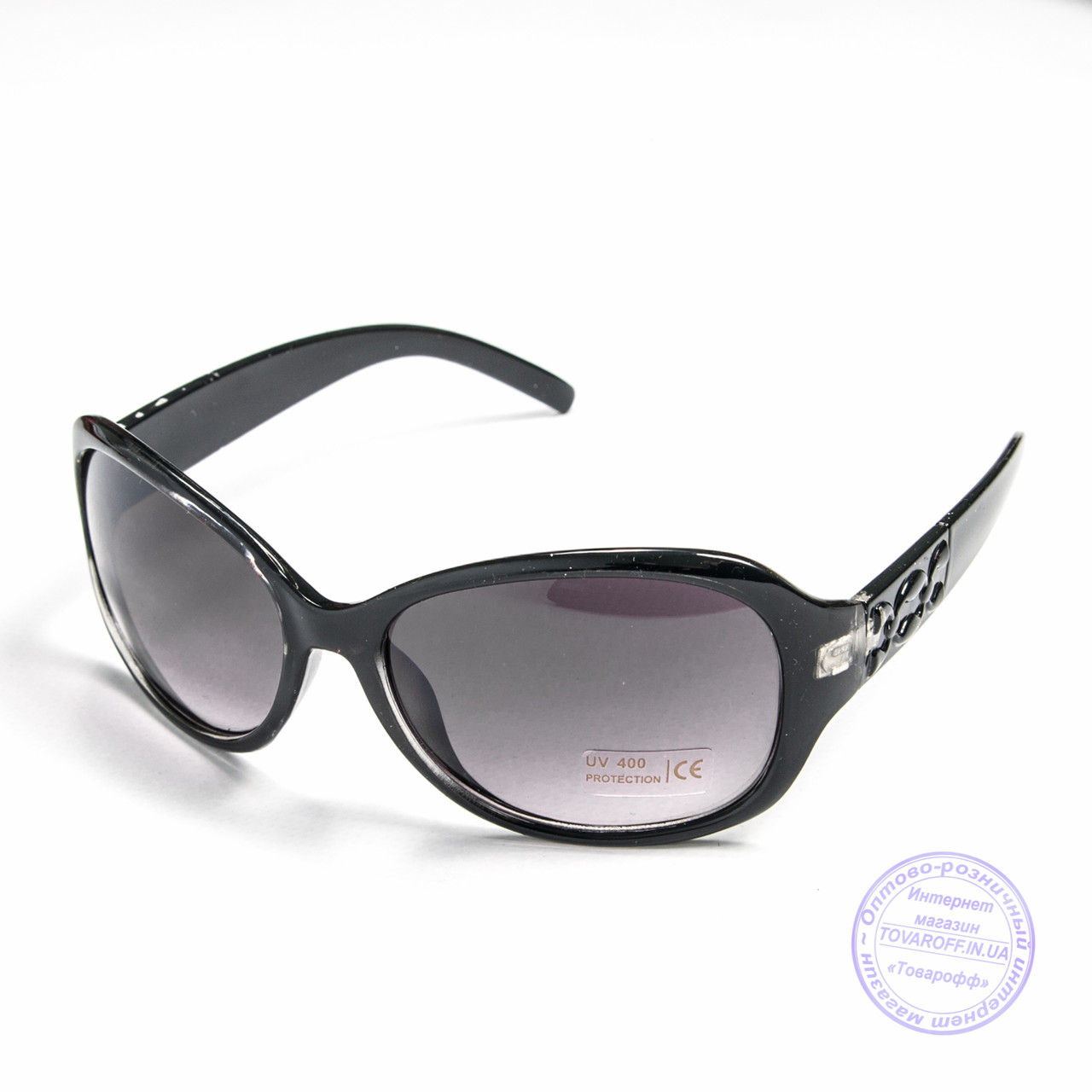 Уцененные женские очки оптом - Черные - B912