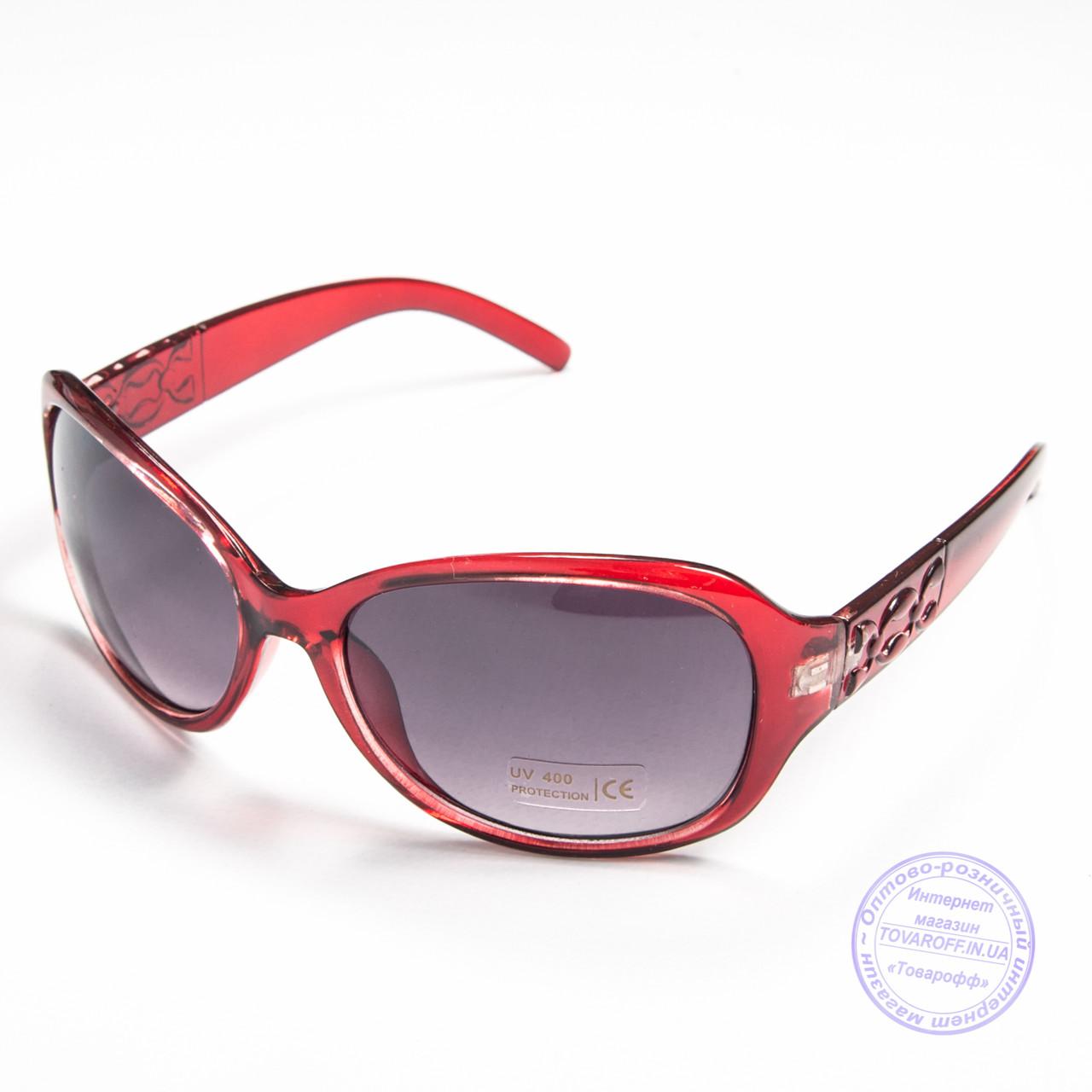 Уцененные женские очки оптом - Красные - B912
