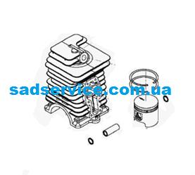 Цилиндр с поршнем для мотокосы Solo 137SB