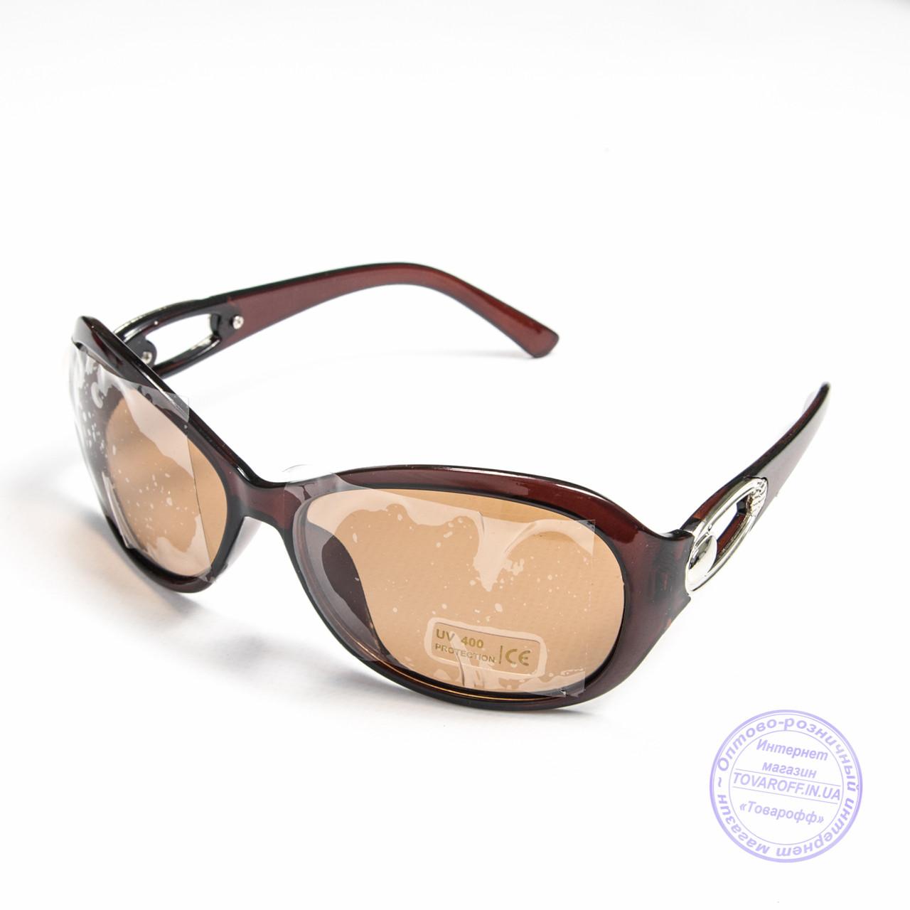 Розпродаж поляризаційних окулярів оптом - Коричневі - 9026