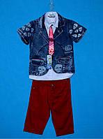 Летние костюмы для мальчиков 6-9 лет, Нарядный костюм для мальчика