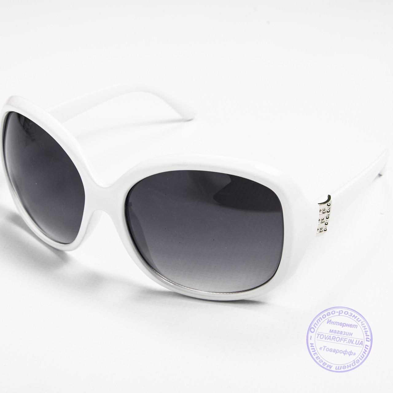 Женские очки распродажа оптом - Белые - D85