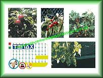 Сетка для защиты от птиц полимерная TENAX Ортофлекс ячейка12х10 зеленая 4х250м Италия