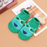 Носки следы противоскользящие махровые Natural Baby