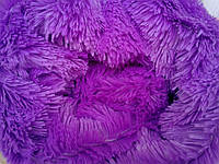 Покрывало на полуторную кровать меховое 160х200 травка, фото 1