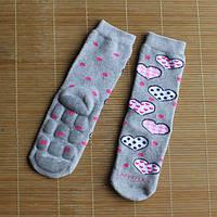 Детские антискользящие махровые носки