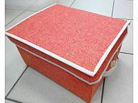 """Ящик ПВХ для хранения вещей """"Элит"""" 31*25*16см R17462"""