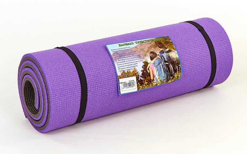 Каремат туристический Пенополиэтилен двухслойный 16мм (р-р 1,8х0,6мх1,6см, фиолетовый) - ADX.IN.UA в Одессе
