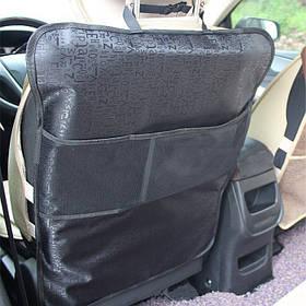 Захисний чохол на спинку переднього сидіння з кишенею