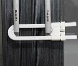 Блокиратор для створчатых дверей с ручками, фото 2