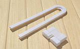 Блокиратор для створчатых дверей с ручками, фото 5