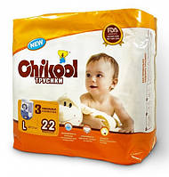 Подгузники-трусики Chikool Premium L (10-17 кг), 22 шт.