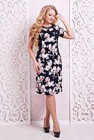 Женское платье с принтом Синди ТМ Таtiana 54-60 размеры