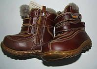 Детские сапоги-ботинки зимние натуральные кожа\мех19-12, 20-12.5, фото 1