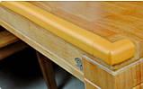 Защитная лента на острые края мебели - толстая. Светло-коричневый, фото 2