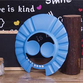 Козирок шапочка для миття голови з захистом для вух
