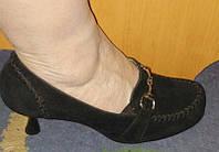 Туфли женские замша 37-38