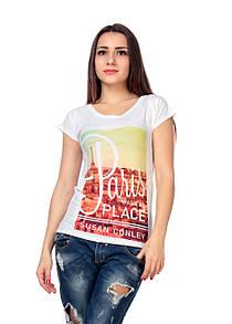 Женская футболка принт фото F2020