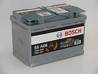Акумулятор BOSCH S5 AGM SILVER 0092S5A080 70Ач