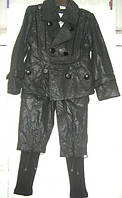Детский костюм утеплённый Dihua Shilevian для модницы 5-7 лет
