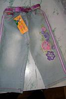 Дитячі джинси - бриджі для дівчинки 2-3 роки