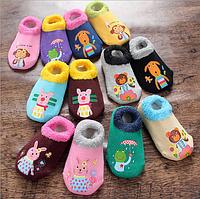Носки следы противоскользящие с махровой подошвой Dear Baby