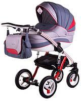 Детская коляска 2 в 1 Adamex Aspena Rainbow Indigo
