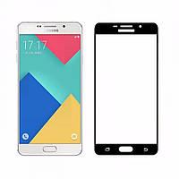 3D защитное стекло для Samsung Galaxy A3 2016 (A310) (на весь экран) black